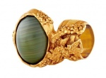 YSL official arty oval ring khaki.jpeg