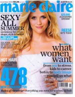 Reese Witherspoon on the November 2009 cover