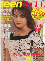 146px Teen Vogue March 2006 Camilla Belle Go to Mikes Apartment and