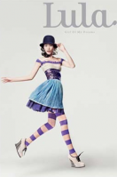 Lula mag purple striped stockings.png