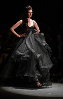 Alex Perry Spring Summer 2010 black gown.png