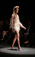 Alex Perry feather dress.png
