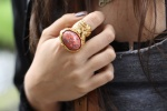 Oval arty ring coral 7.jpg