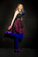 Hannah Murray blue tights.jpg