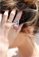 Oval arty ring coral silver.jpg