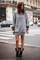 Christine Centenera grey jumper dress.jpg