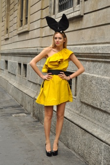 Blonde Salad Lanvin for HM yellow dress.jpg