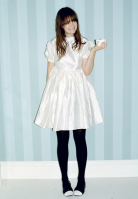 Leith Clark white dress.png