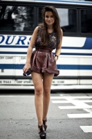 Miroslava Duma leather shorts.jpg